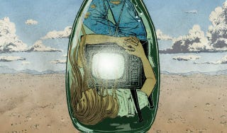 Illustration for article titled Only One Woman Survives The Apocalypse... And Then She Finds A Bottle