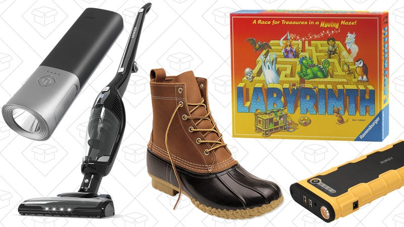 Illustration for article titled Today's Best Deals: Board Games, L.L.Bean Boots, the Anker HomeVac, and More