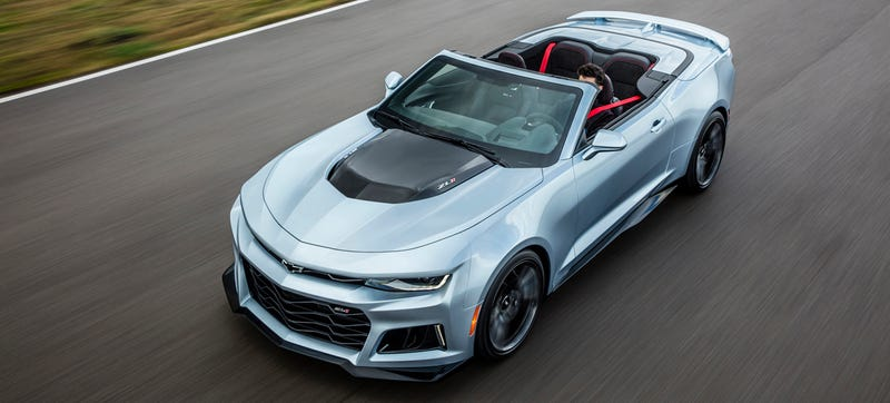 Ilration For Article Led The 2017 Chevrolet Camaro Zl1 Convertible Is Your 640 Horse Sky