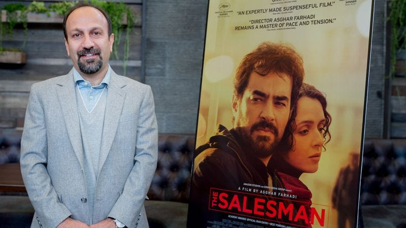 Asghar Farhadi (Photo: Greg Doherty/Getty)