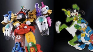 Illustration for article titled The Disney Voltron figure is so completely insane, and I want one