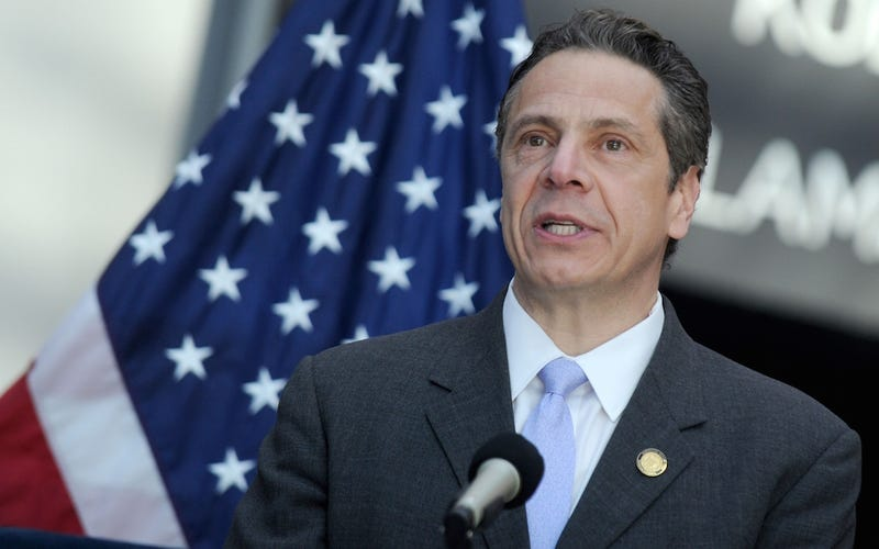 Illustration for article titled NY Governor Andrew Cuomo Bans State Travel to North Carolina After Anti-LGBT Law