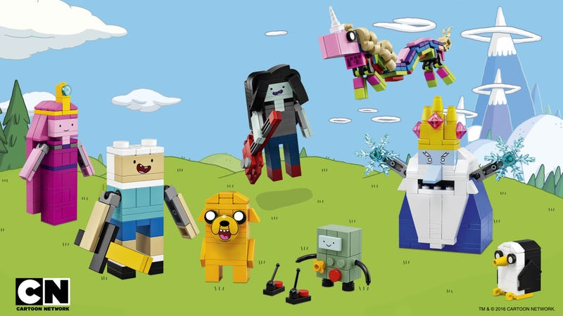 Illustration for article titled Lego Adventure Time Does Things Differently