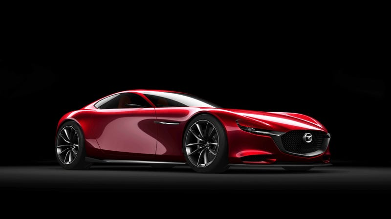 Illustration for article titled A New Mazda Rotary Sports Car Won't Be Coming For Years