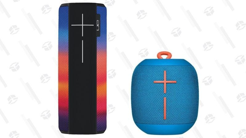 Altavoz Ultimate Ears MEGABOOM Deep Radiance | $140 | AmazonAltavoz Ultimate Ears WONDERBOOM portátil y con bluetooth | $45 | Daily Steals | Usa el código KINJABOOMGráfico: Shep McAllister