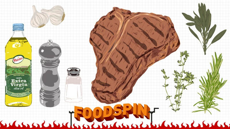 Illustration for article titled How To Cook A Giant T-Bone Steak The Size Of Your Entire Head
