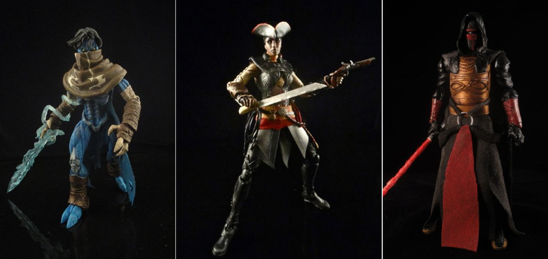 Illustration for article titled Revan, Aveline, And Other Custom Action Figures