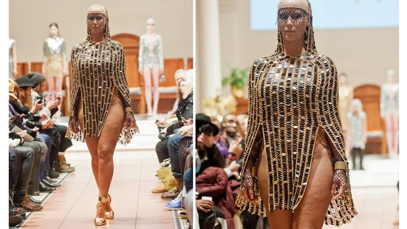Illustration for article titled Amber Rose Wore This to Church