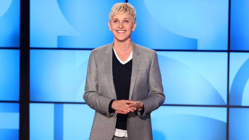 Illustration for article titled Ellen DeGeneres producing an NBC sitcom about a lesbian