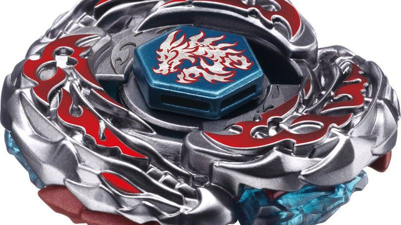 A Beyblade, probably soon to be a Michael Bayblade