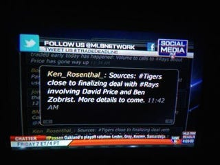 Illustration for article titled MLB Network Tricked By Fake Ken Rosenthal Twitter Account
