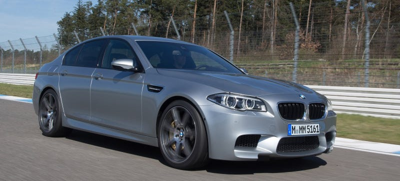 Illustration for article titled The 30th Anniversary BMW M5 Will Have Nearly 600 Horsepower