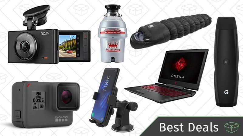 Illustration for article titled Monday's Best Deals: Car Accessories, Gaming PCs, Vape Pens, and More