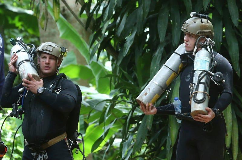 Illustration for article titled Rescate en la cueva de Tailandia: los militares aceleran un plan que no necesita sumergir bajo el agua a los niños