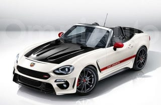 Illustration for article titled Leaving this here … '124 Abarth Spider'