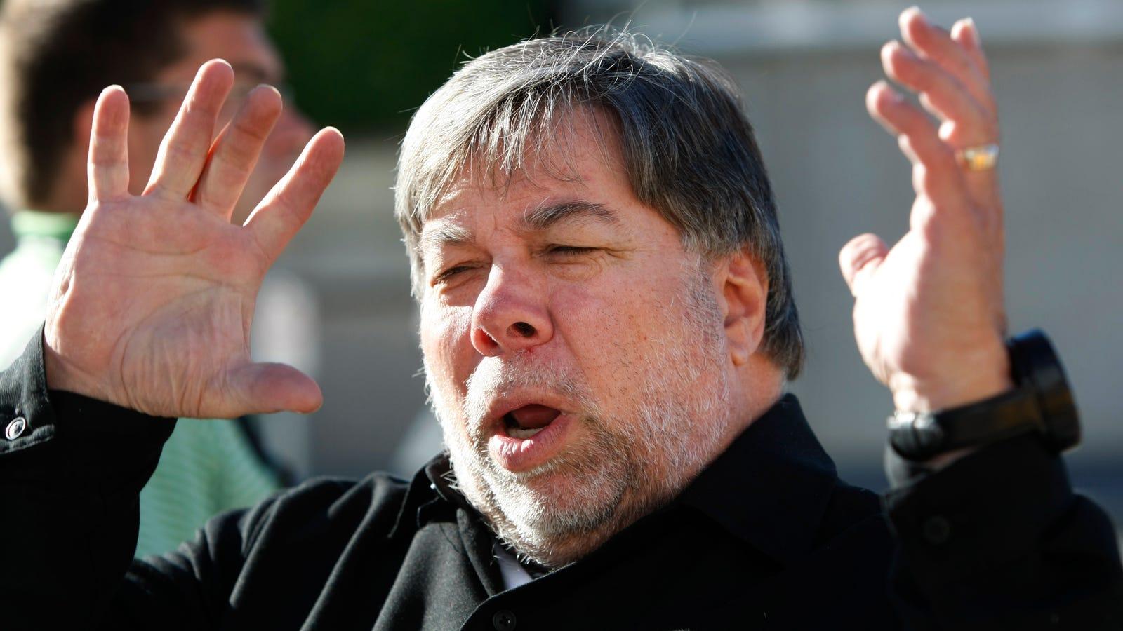 """Wozniak sobre el biopic de Jobs: """"Steve no era un santo de joven"""""""