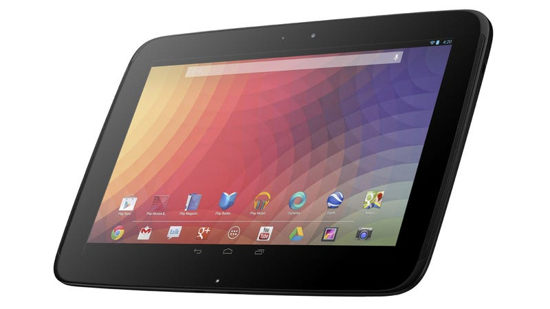 "Illustration for article titled Refreshed Nexus 10 Said to Arrive ""In the Near Future"""