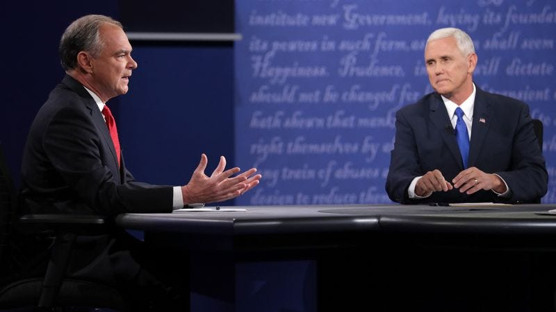 Highlights From The Vice Presidential Debate