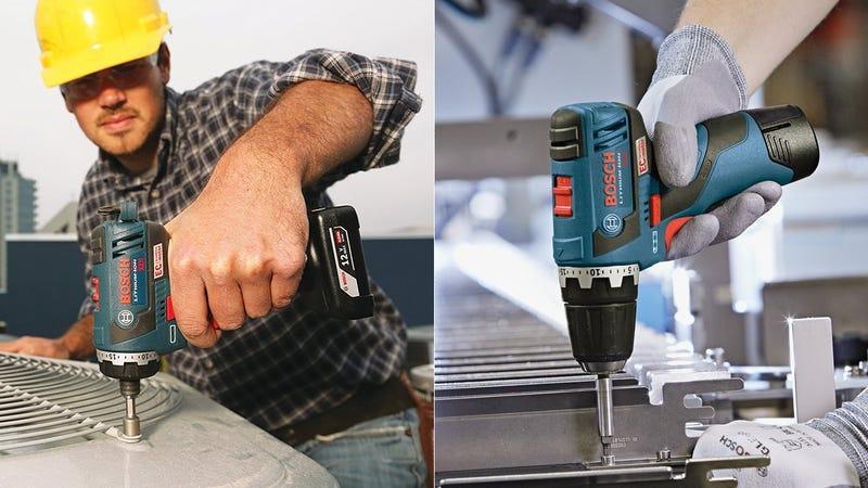 Bosch 12V Pocket Driver, $108Bosch 12V Drill/Driver, $99