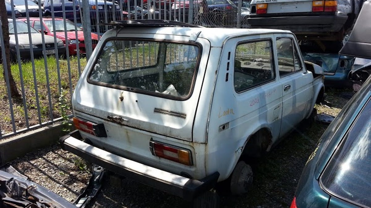 My visit to a German junkyard