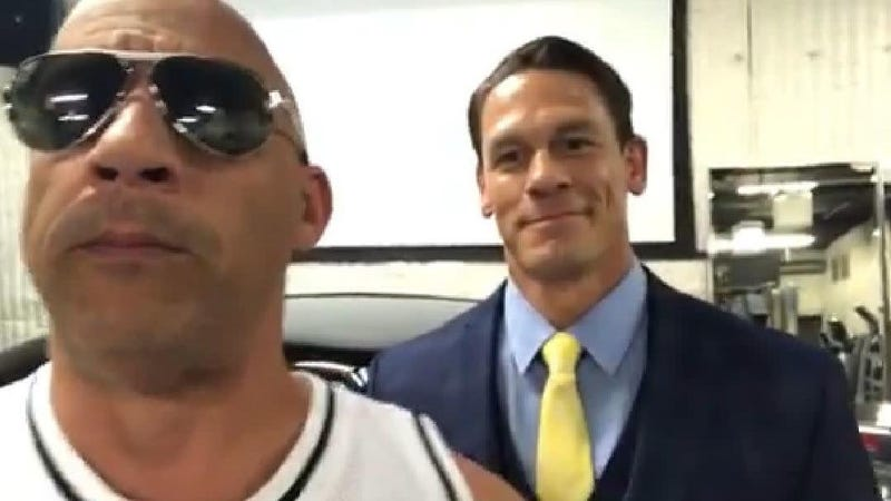 Illustration for article titled John Cena Will Apparently Join the Fast and Furious 9 Cast