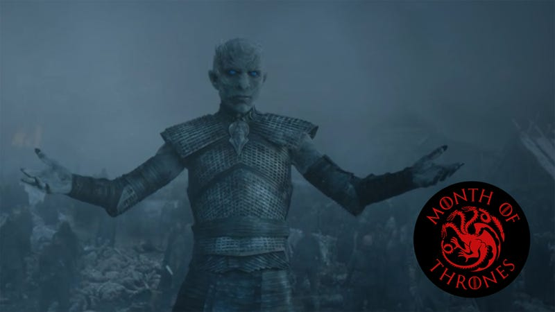 Illustration for article titled A triumphant Night King launched a thousand memes