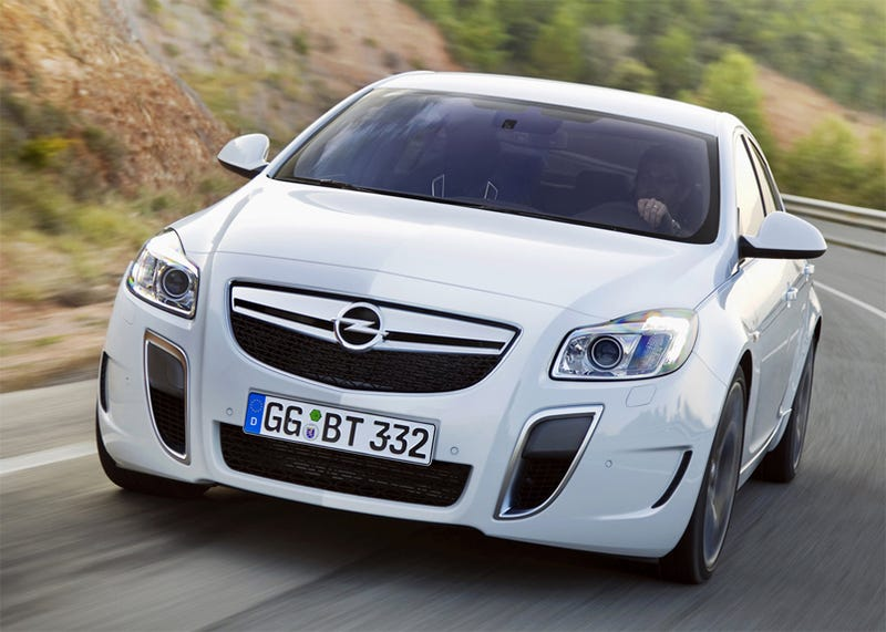 Illustration for article titled 2010 Opel Insignia OPC, Vauxhall VXR Gunning For Audi S4