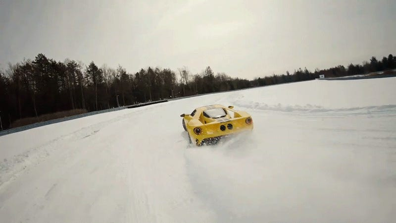 Video of 14-Year-Old Snow Drifting a Ford GT Directly Targets My Jealousy Gland