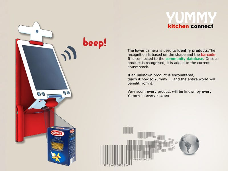 Yummy Kitchen Connect is Web 2 0 for the Kitchen