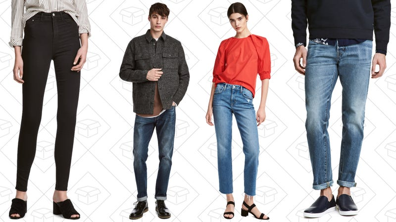 Up to 30% off select jeans