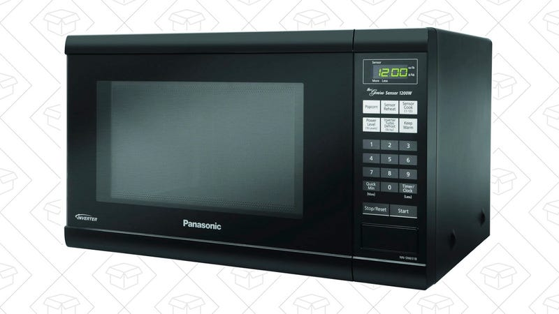 Panasonic Countertop Microwave with Inverter Technology | $108 | Amazon | With the $20 off coupon