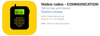 Illustration for article titled The Best iOS Walkie Talkie Apps to Use Instead of Apple's