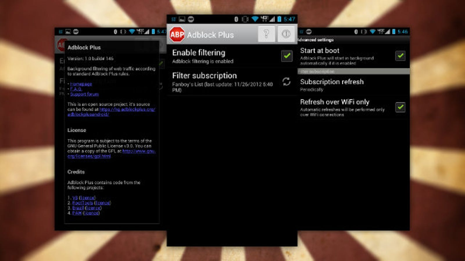 Adblock Plus for Android Kills Mobile Ads in All Your Apps