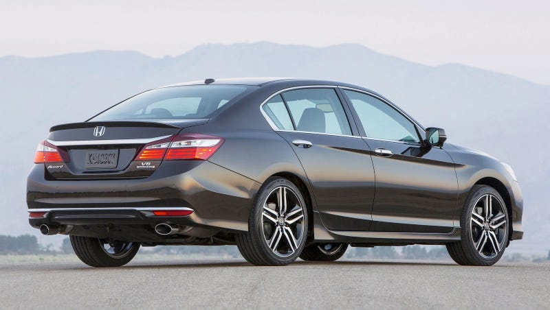 the honda accord v6 is dead