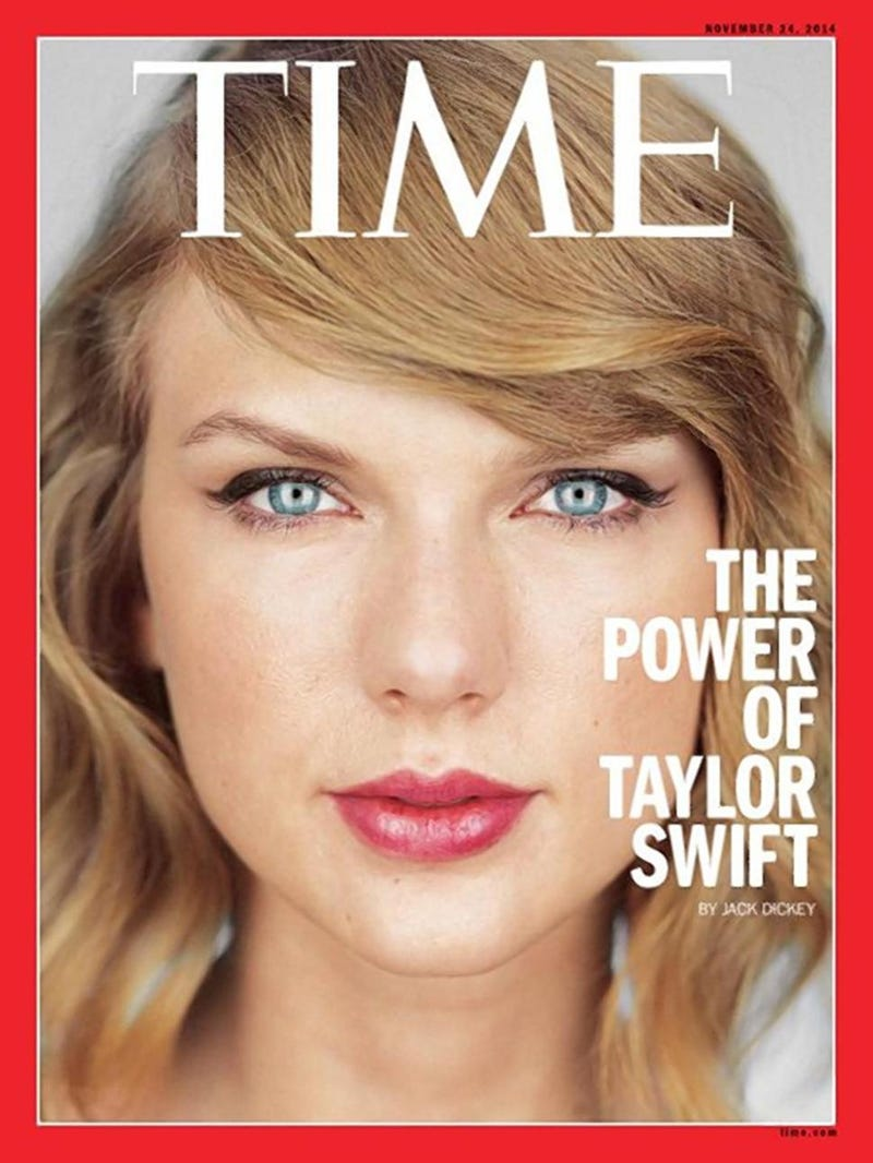 Illustration for article titled Role Models, Spotify and Anxiety: Taylor Goes Full Swift for Time