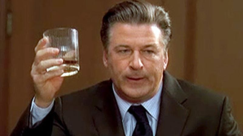 Illustration for article titled Alec Baldwin says he hopes 30 Rock continues for five more increasingly terrible seasons without him