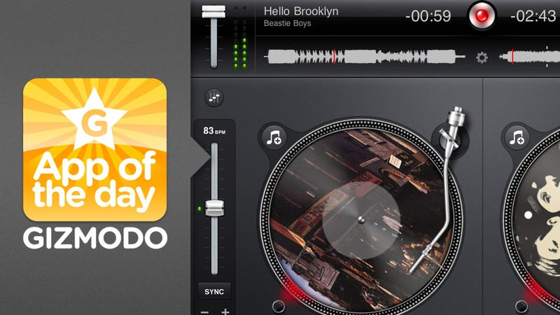 Illustration for article titled App of the Day: djay for iPad