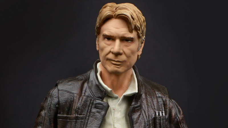 Illustration for article titled Hasbro's New The Force AwakensToys Reveal Some New Details—and an Awesome Han Solo
