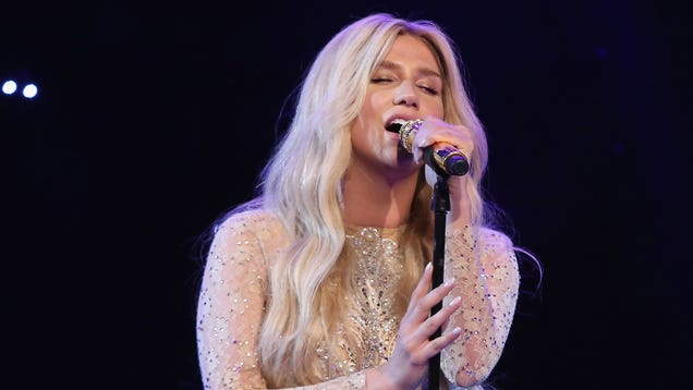 Kesha Sings 'Amazing Grace' Cover Because She Can't ...
