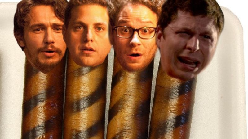 Illustration for article titled Seth Rogen invites his usual sausage party to his Sausage Party