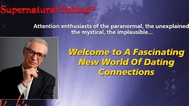 free paranormal dating sites