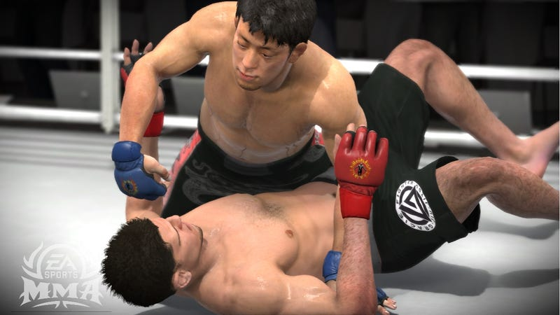 Illustration for article titled EA Sports Won't Say MMA's Dead, but Won't Say It's Getting a Sequel, Either