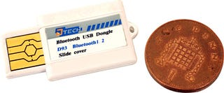 Illustration for article titled Bluetooth Dongle Almost Small Enough for a Flea Circus