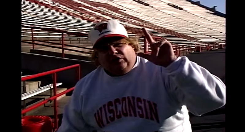 Illustration for article titled Motivational Speaker Matt Foley Makes His Pitch For Wisconsin Football