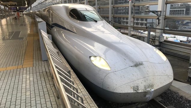 Japan s Newest Bullet Trains Can Keep Running on Battery Power in the Event of a Disaster