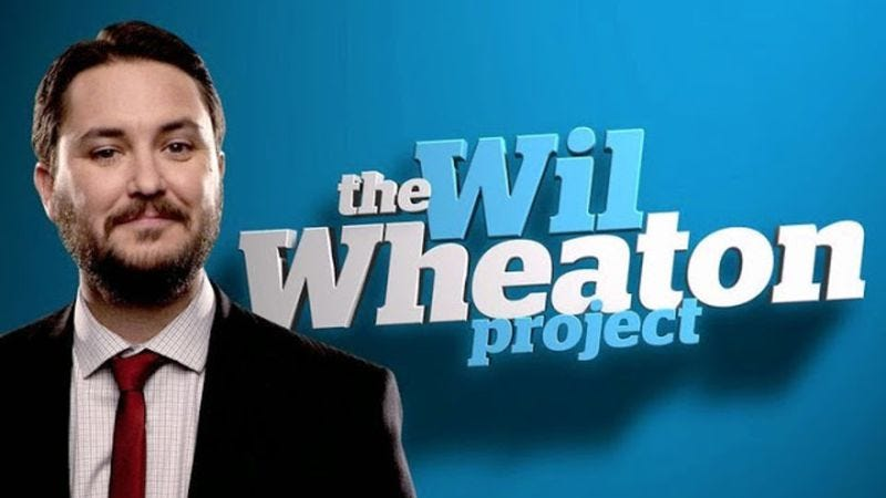 Illustration for article titled Syfy cancels The Wil Wheaton Project