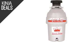 Pulverize Your Food Scraps With This Discounted Garbage Disposal
