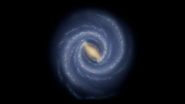 Astronomers Spot Strange 'Splinter' in Milky Way Spiral Arm