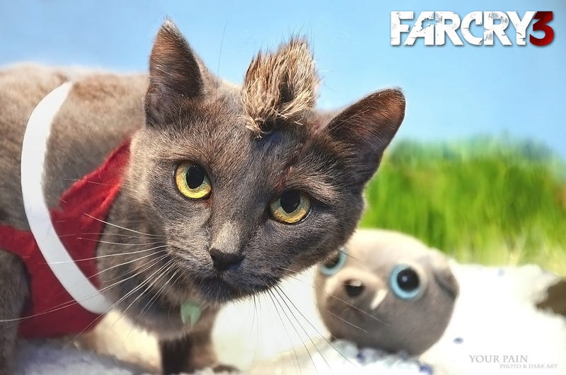 Illustration for article titled Far Cry 3 With A Cat