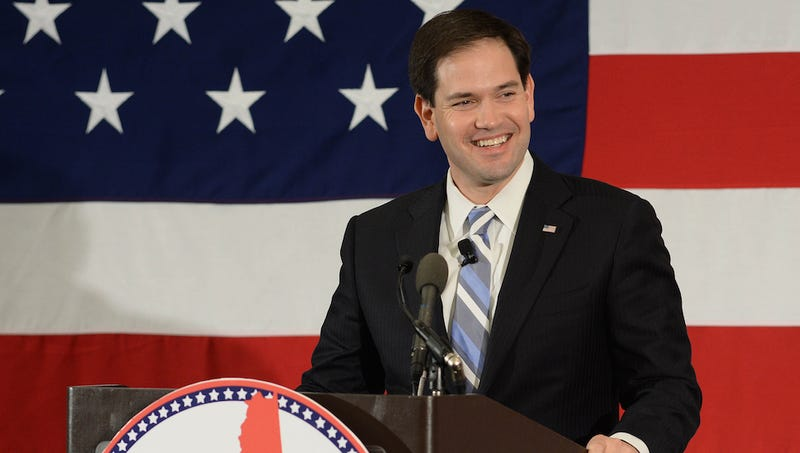 Illustration for article titled Marco Rubio Leads GOP Presidential Field, Say Two Crazy Early Polls